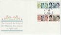 1986-04-21 Queens Birthday Stamps Balmoral Crathie FDC (66538)