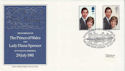 1981-07-22 Royal Wedding Stamps Caernarfon FDC (66542)