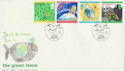 1992-09-15 Green Issue Stamps Carsington Water FDC (66549)