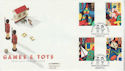 1989-05-16 Games & Toys Stamps NSPCC London EC1 FDC (66551)