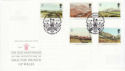 1994-03-01 Investiture Stamps Cardiff FDC (66561)