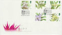 1993-03-16 Orchids Stamps Kew Richmond FDC (66563)