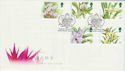 1993-03-16 Orchids Stamps Glasgow Conference FDC (66564)