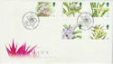 1993-03-16 Orchids Stamps London EC FDC (66565)
