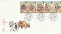 1989-10-17 Lord Mayor Show Stamps London EC4 FDC (66566)