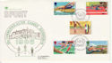 1986-07-15 Sport Stamps Rowing Assoc London FDC (66572)