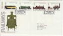 1975-08-13 Railways Stamps Darlington FDC (66620)