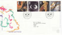 2000-12-05 Sound and Vision Stamps Cardiff FDC (66629)