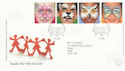 2001-01-16 Hopes for the Future stamps Hope Valley FDC (66630)