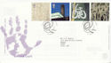 2000-05-02 Art and Craft Stamps Slaford FDC (66643)