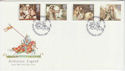 1985-09-03 Arthurian Legends Stamps Winchester FDC (66657)