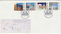 1987-05-12 British Architects Stamps Macclesfield FDC (66661)