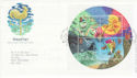 2001-03-13 Weather Stamps M/S Fraserburgh FDC (66688)