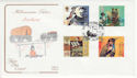 1999-04-06 Settlers Tale Stamps Plymouth FDC (66701)
