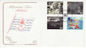 1999-10-05 Soldiers Tale Stamps Weston Favell FDC (66716)
