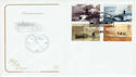 2001-04-10 Submarines Stamps Vickerstown FDC (66724)