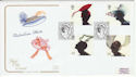 2001-06-19 Fabulous Hats Great Western Rd W9 FDC (66725)