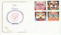 2001-01-16 Children Face Paintings Hope FDC (66728)