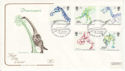 1991-08-20 Dinosaurs Stamps Loch Ness Inverness FDC (66734)