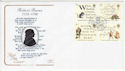 1996-01-25 Robert Burns Stamps Dumfries FDC (66741)