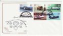 1998-09-29 Speed Records Stamps London WC2 FDC (66747)