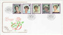 1998-02-03 Princess Diana Stamps Kensington W8 FDC (66748)
