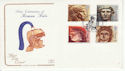 1993-06-15 Roman Britain Stamps Chester FDC (66751)