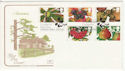 1993-09-14 Autumn Stamps Pear Tree Devon FDC (66753)