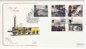 1994-01-18 Age of Steam Railway Peterborough FDC (66755)