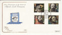 1992-03-10 Tennyson Stamps Stowe House Bude FDC (66761)