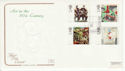 1993-05-11 Art Stamps Ben Nicholson St Ives FDC (66764)