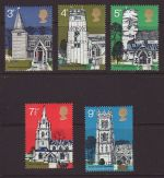 1972-06-21 SG904/8 Churches Stamps MINT Set (67422)