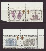 1973-08-15 SG935/8 Inigo Jones Stamps MINT Set (67429)
