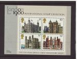 1978-03-01 MS1058 Historic Buildings M/Sheet MINT (67589)