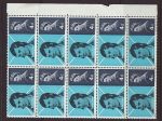1966-01-25 Robert Burns Stamps Block of 10 Mint (67695)