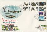 1965-09-13 Battle of Britain Stamps Fareham cds FDC (67968)