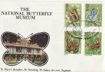 1981-05-13 Butterflies Stamps Bramber Official FDC (68474)
