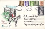 1984-08-28 Definitive Stamps + HV Newcastle FDC (68491)