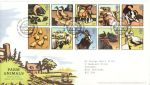 2005-01-11 Farm Animals Stamps T/House FDC (68696)