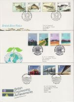 1983 Bulk Buy x6 Special Postmark FDC From 1983 (69103)