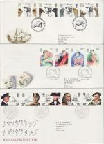 1982 Bulk Buy x7 Special Postmark FDC From 1982 (69104)