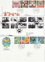 2001 Bulk Buy x10 Special Postmark FDC From 2001 (69129)