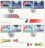 1994-05-03 Channel Tunnel GB + France FDC (69605)