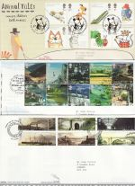 2006 Bulk Buy x14 FDC From 2006 With Special Pmks (69654)