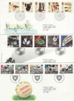 1996 Bulk Buy x9 FDC From 1996 Bureau Pmks (69833)