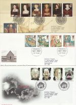 1997 Bulk Buy x9 FDC From 1997 Bureau Pmks (69834)