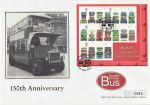 2001-05-15 Double Decker Buses M/S Victoria FDC (71476)