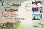 1965-09-13 Battle of Britain Part Set Biggin Hill cds FDC (71585