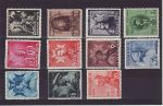 1938-06-08 Romania Carol`s Accession Set of 11 Mint (71670)