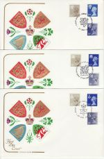 1983-04-27 Regional Definitive Stamps x 3 SHS FDC (71909)
